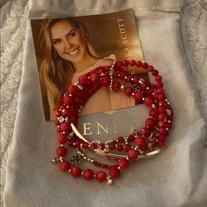 NWT Kendra Scott bracelet set